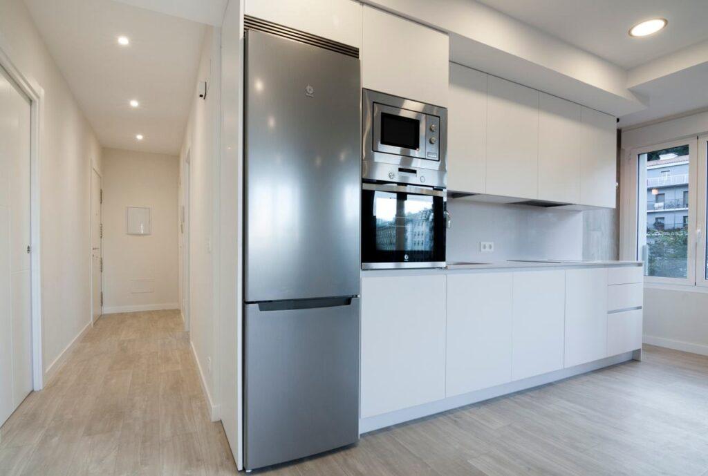 01 cocina diseño lineal pamplona